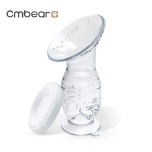 Cmbear Silicone Breastfeeding Manual Nursing Strong Suction Reliever Breast Pumps Feeding Milk Bottle Sucking Pump