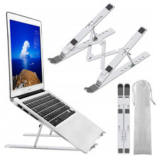 Laptop-Stand Foldable Macbook Pro LINGCHEN for Metal 7 Gears