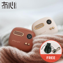 Maoxin hand warmer power bank electronic retro powerbank min
