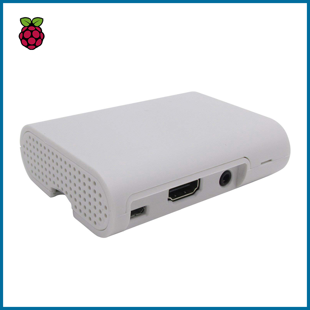 S ROBOT Raspberry PI 3 Model B Case Cover Shell Enclosure ABS Plastic Box For Raspberry PI 3 Case RPI124