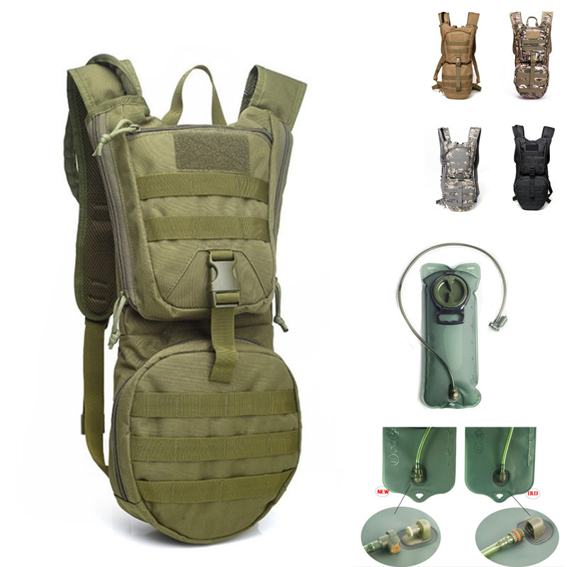3L Outdoor Backpack Molle Military Tactical Hydrator Pouch Backpack Cycling Water Bag Camping Hiking Bag With Inner Water Bag