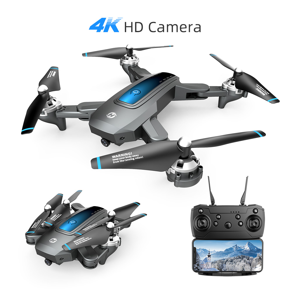 Holy Stone HS240 4K Drone HD Camera Profesional Foldable RC Dron Quadrocopter Quadcopter Drone 200MP 720P For Kids HolyStone