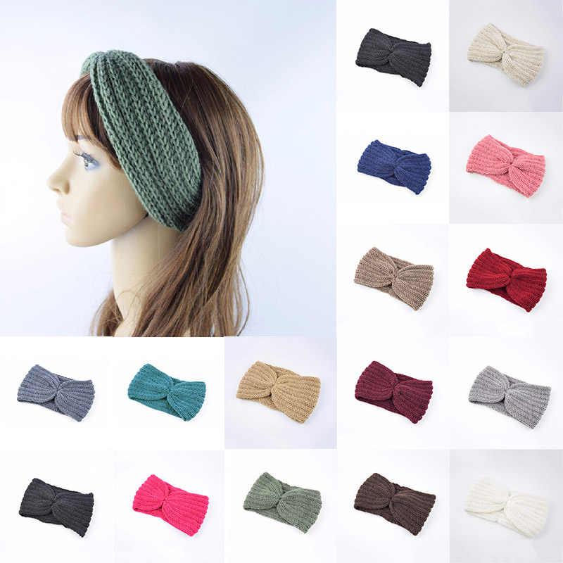 Warmer Autumn Winter Cross Knot Hairband Women/'s Headband Headwear Head Wrap