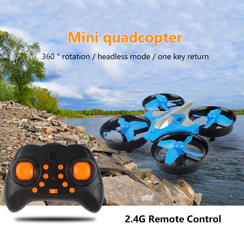 2.4G Mini Quadcopter Headless JJRC H36 H36F Mini Drone 2.4G 4CH 6-Axis Speed 3D Flip Headless Mode RC Drones Toy Gift  toys