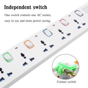 Image 5 - Многофункциональная интеллектуальная плата для защиты от перегрузки с защитой от взвода и молнии 4USB 3.2A быстрое зарядное устройство кабель 1,5 м usb разетка резетка с usb разетка с usb для дома
