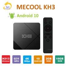 Mecool kh3 Смарт ТВ box android 10 2 Гб оперативной памяти 16