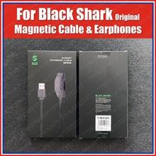 Originale 18W Black Shark 3 Pro Cavo di Ricarica Magnetico 1.2M Black shark 3s 2 Pro Gaming Auricolari 3.5 millimetri di Tipo C Cavo Ad angolo Retto