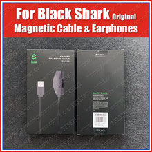 Originele 18W Black Shark 3 Pro Magnetische Oplaadkabel 1.2M Black Shark 3S 2 Pro Gaming Koptelefoon 3.5Mm Type C Haakse Kabel
