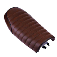 Waterproof Motorcycle Seat Straddle Modified Shock Absorption Vintage Soft Cushion