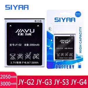 Image 1 - SIYAA נייד טלפון JY G2 JY G3 JY S3 JY G4 סוללה עבור JIAYU G2 JYG2 JYS3 JY S3 JY G4 S3 G4s G4 g4T JY G3 JYG3 G3 Bateria