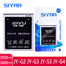 SIYAA Mobile Phone JY G2 JY G3 JY S3 JY G4 Battery For JIAYU G2 JYG2 JYS3 JY S3 JY G4 S3 G4s G4 G4T JY G3 JYG3 G3 Bateria