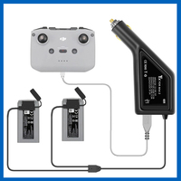 Mavic-cargador de coche Mini SE para exteriores, batería Dual con puerto USB, accesorios de carga para DJI Mini 2 remoto y baterías