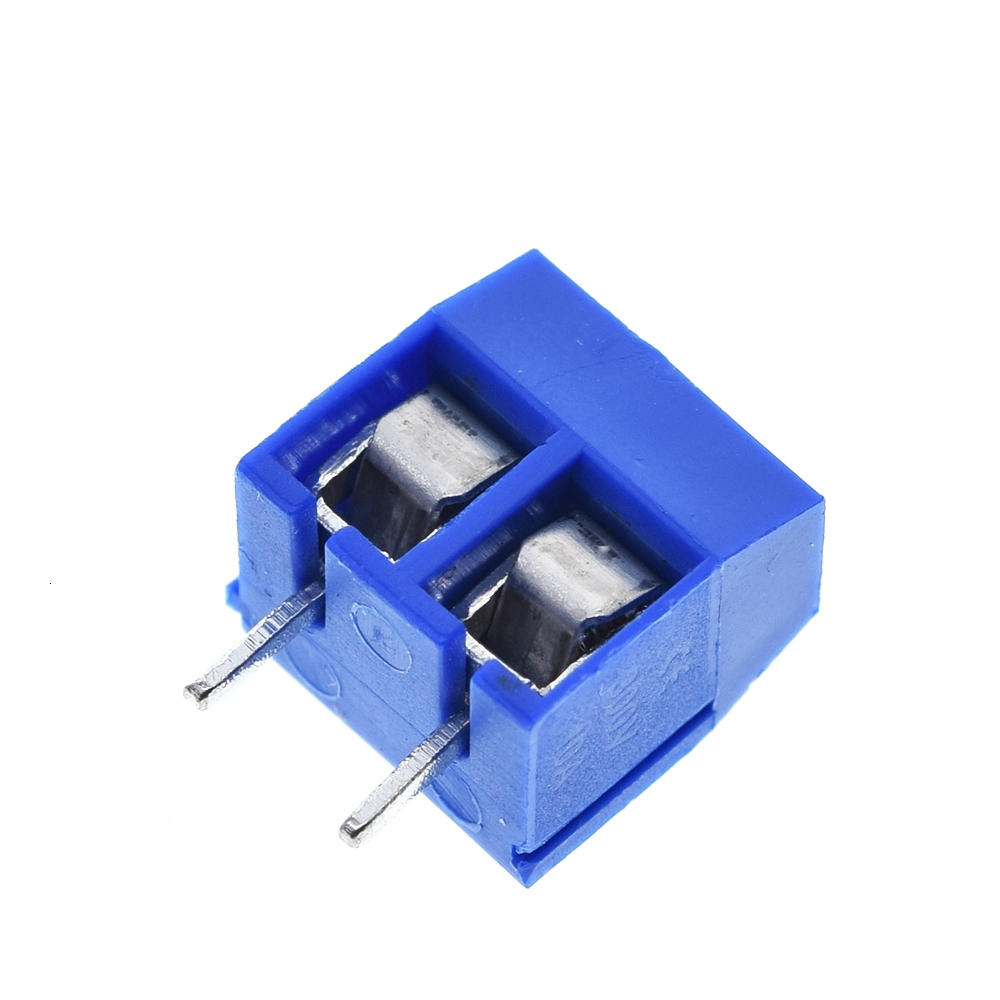 5.08-301-2P 301-2P  2 Pin Screw Terminal Block Connector 5mm Pitch