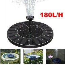 Mini Solar Powered Fountain Round Floating Solar Fountain Water Fountain Garden Decoration Solar Fontein Pool Pond Water Pump