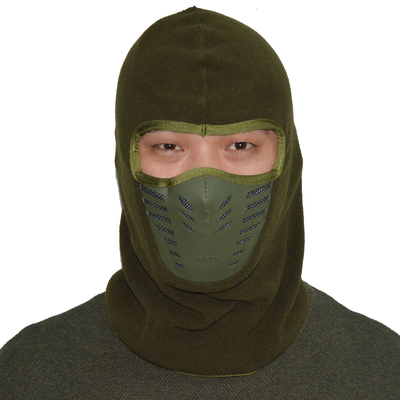 2017 Winter Warmer Cycling Face Mask Windproof Dust-proof Fleece Bike Full Face Scarf Mask Neck Bicycle Snowboard Ski Mask (4)