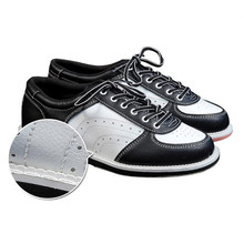 Bowling Shoes Men Skidproof Sole Professional Bowling Sport Shoes Non-slip Sneakers ZJ55