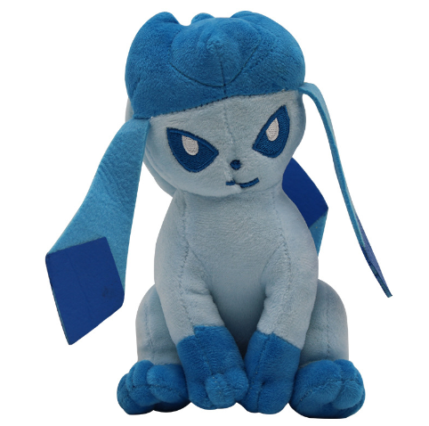 Anime Toys Hobbies Glaceon Cartoon Character Stuffed Animals Plush Kids Toys Great Gift