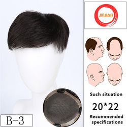 Real Hair Extension Human Hair Toupee for Men Top Hair Closures Lace Inner Cap with Fixed Clip Multiple Styles Toupee