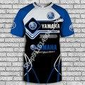 Лидер продаж, новая футболка Yamaha, футболка для мужчин и женщин, для мальчиков и девочек, повседневные спортивные топы, футболки