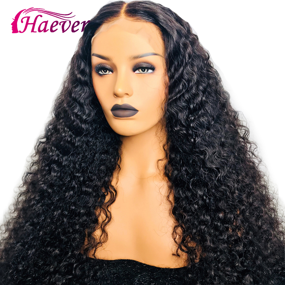 Haever Frontal-Wigs Brazilian Baby-Hair Lace-Front 360-Lace 180%Human-Hair with for Black-Women title=