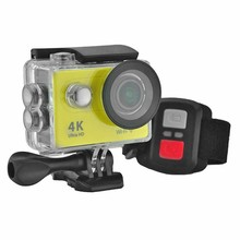 H9R Wifi Camera 1080P Ultra 4K Sport Action Waterproof Travel Camcorder Yellow(China)