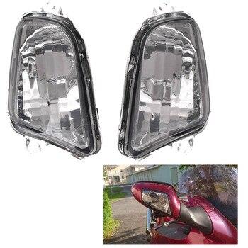 цена на e-Mark For Honda CBR1100XX CBR 1100 XX Front Turn Signals Indicator Light Lamp Blinker Lens Cover Shell 1997-2006