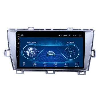 For Toyota Prius 2009-2013 2 din Adroid 8.1 Car Radio Stereo WIFI GPS Navigation Multimedia Player head unit image