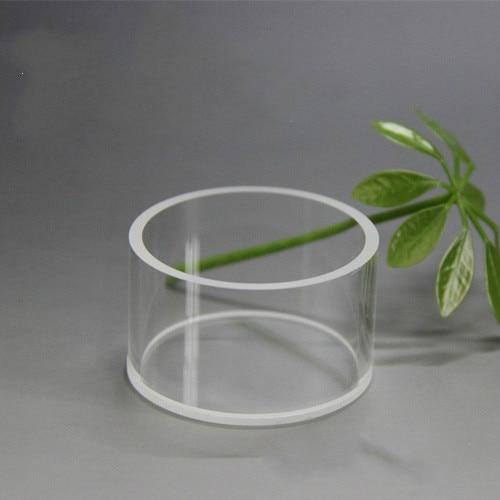 Quartz Cylinder Transparent Quartz Reflection Cuvette Reaction Cell