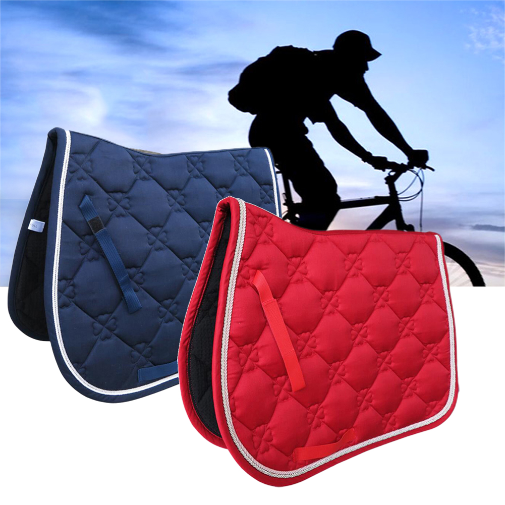 Jumping Event Sports Saddle Pad All Purpose Equipment Horse Riding Shock Absorbing Performance Cover Soft Equestrian Dressage