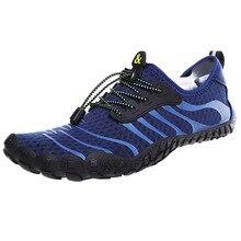 2019 미끄럼 방지 착용 강 신발 남성 신발 야외 넘어 가고 신발 여성의 다섯 손가락 해변 신발 물 신발