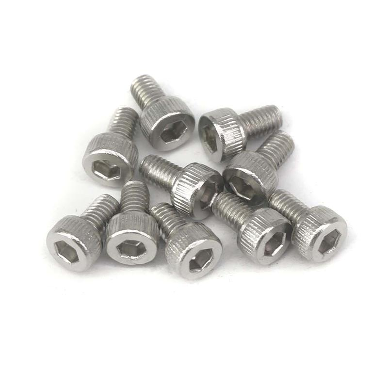 20PCS <font><b>M3x5mm</b></font> 304 Stainless Steel Allen Hex Socket Head Cap Screws Inner Hex Socket Bolt DIN912 image