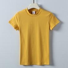 2020  Summer  Fashion  T Shirt blue Women  Woman  Tshirt  sky