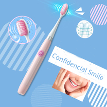 Sonic Electric Toothbrush 3pcs brush Head teeth Whitening Healthy oral hygiene tooth brush battery long stanby time xiaomi electric toothbrush smart sonic ultrasonic tooth brush whitening teeth vibrator wireless oral hygiene mijia birthday gift