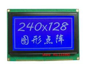 Image 3 - 5.1 polegada 240x128 ponto gráfico lcm 21 p 22pin 8080 interface paralela ra6963 controlador azul amarelo ou cinza fstn 240128 display lcd