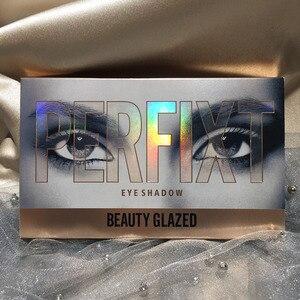Image 5 - BEAUTY GLAZED Makeup 18 Color Nude Eyeshadow Pallete Waterproof Eyeshadow Palette Make up Brush Eye shadow Palette Cosmetics