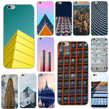 Building Architecture Soft TPU Mobile Phone Case for iPhone