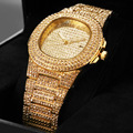 Модные овальные Звездные кварцевые дамские часы  стальные настольные женские часы  стразы  календарь  женские наручные часы Zegarek Damski