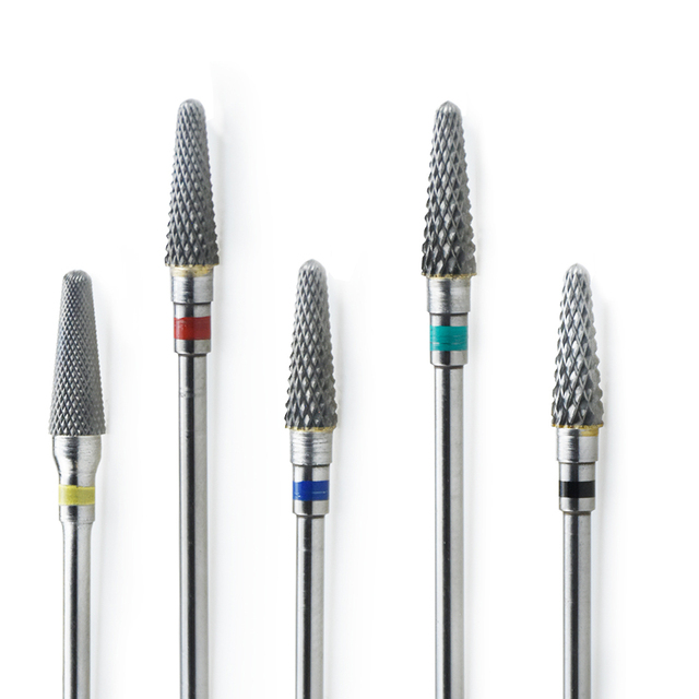 "Nail Drill Bits 25 Type 3/32"" Tungsten Carbide Electric Drill bits Manicure Machine Accessories Nail Files Manicure Mill 3"