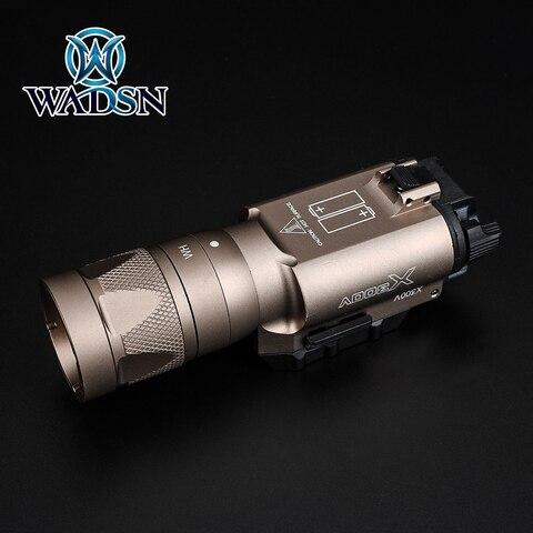 luz estroboscopica airsoft handgun scout lampada pistola lanternas arma luzes