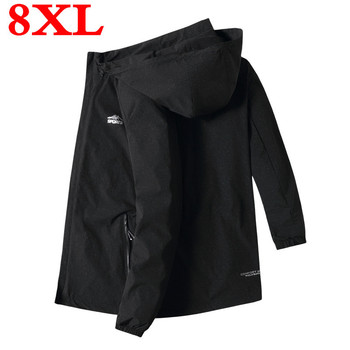 plus  size  Men's  Spring And Autumn 2020  New  Trends  Autumn  Casual  Handsome Large Size Jacket  8xl  7xl  6xl  5xl