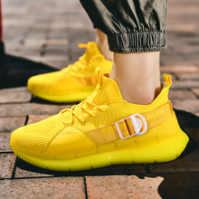 Men Sneakers Breathable Mesh Running Sport Shoes Lace Up Casual Mens Shoes Athletic Sneakers Outdoor Training Fitness Shoes цена 2017