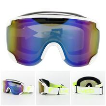Andake Ski Goggles Anti-fog Protection Mirrored Lens Snowboard Snow Goggles for Men Women Youth for Skating Snowmobile(China)