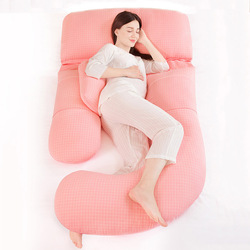185*75cm Candy Color Pregnancy Pillow Sleeping Support Pillow For Pregnant  U Shape Maternity Pillows Postpartum Bedding Cushion