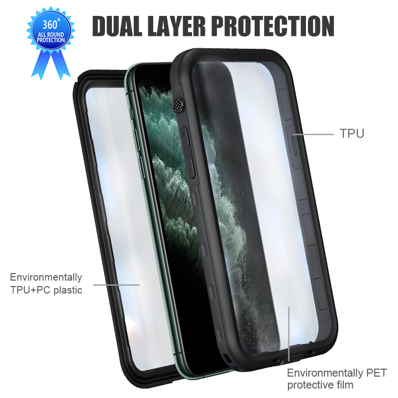 Waterproof Phone Case For iPhone 11 Pro Max (3)