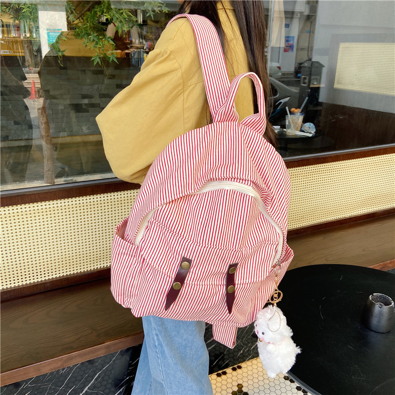 Lovely For Young People Simple backpack Tutorial Bags Shopping Bag Children's Backpack School Supplies Kawaii Gift Stationery
