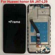 6.09 のオリジナル新液晶画面 Huawei 社の名誉 8A JAT L29 Lcd ディスプレイタッチスクリーンデジタイザアセンブリ + フレーム + ツール + glassfilm