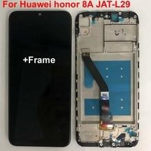 6.09 original original original nova tela lcd para huawei honor 8a JAT L29 display lcd tela de toque digitador assembléia + quadro ferramentas glassfilm
