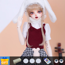 1/4 BJD Shuga Fairy Lyci Doll Anime Figure Girl Full Set Resin Toys for Kids Surprise Gifts for Girls Boys M K