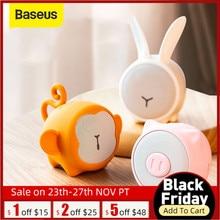 Baseus Bluetooth Speaker Portable Waterproof Mini Speaker For Home Car Better 3W Bass Colorful Animal Model Stereo Sound