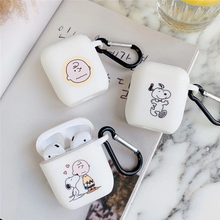 Japan Charlie Brown on for airpods apple case wireless bluetooth earphone for funda airpods case cute airpod cover headset pouch цена и фото
